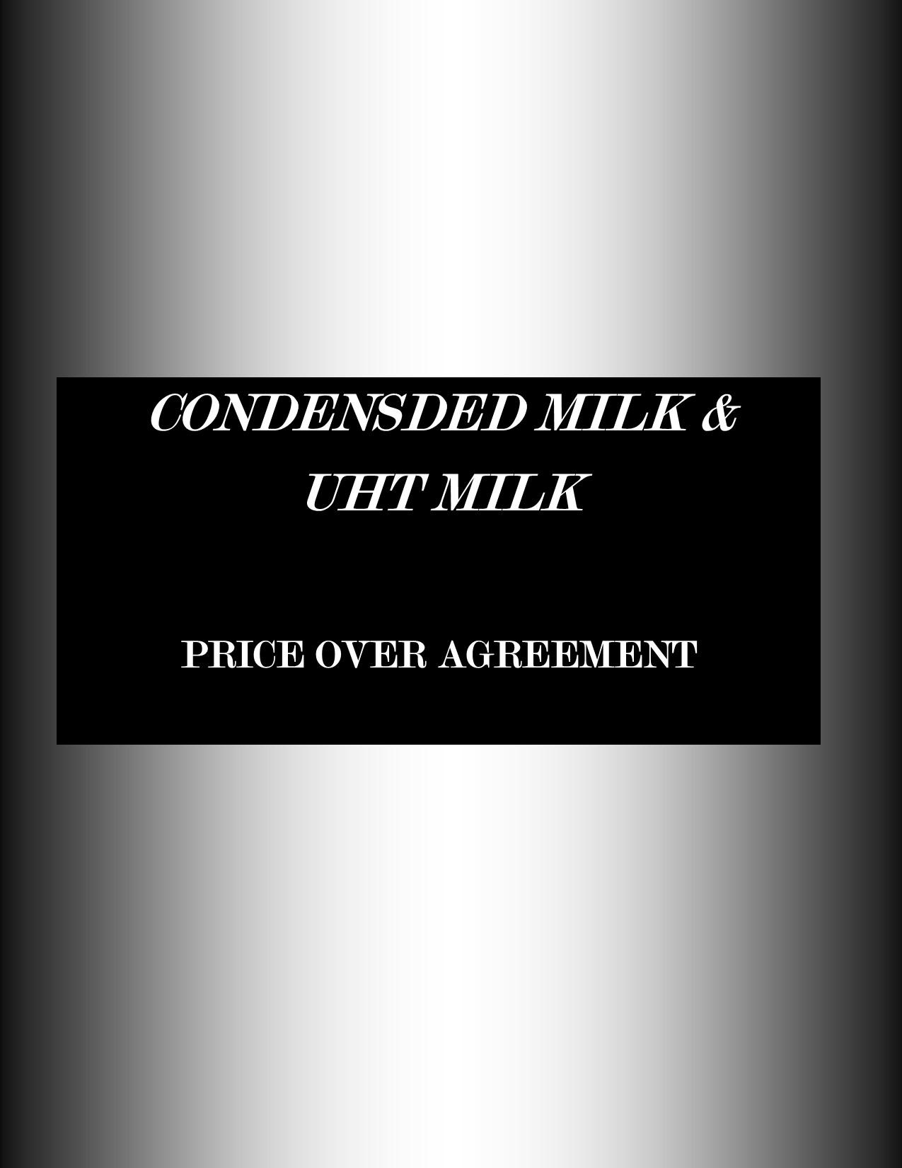 Condeesed MILK