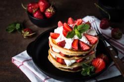 Pancake with Mascarpone