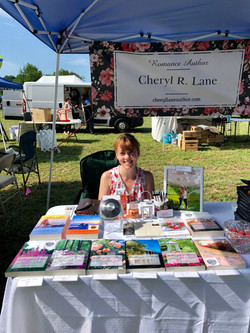 Cheryl at Knotts Island Peach Festival 2