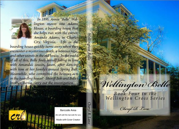 Wellington Belle Cover, Front and Back