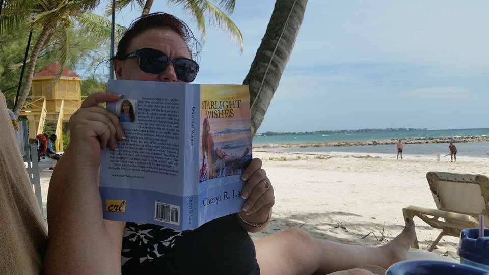 Reading on vacation