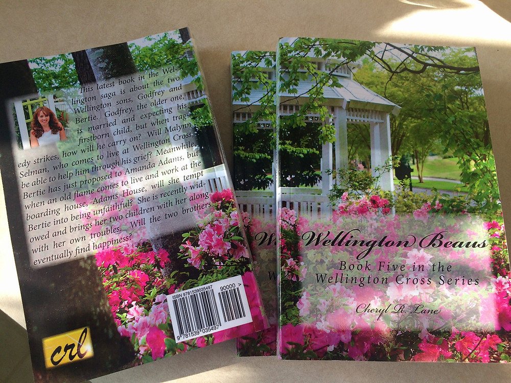 Wellington Beaus Book Cover, Front and Back