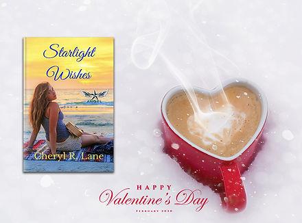 Starlight Wishes all author valentines heart mug