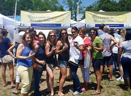 Fun at the Pungo Wine Festival