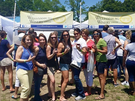 Fun at the Pungo Wine Festival