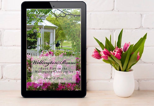 Wellington beaus all author mockup pink