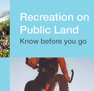 Know B4UGo-Recreation-public-land-cover.