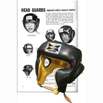 GOLOMB USA Boxing Professional Head Guard made in the USA