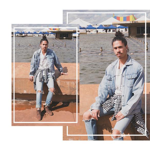 Pedro Augusto | look do dia: brechó e bazar