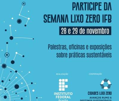 Evento Semana LIXO ZERO chega à Brasília