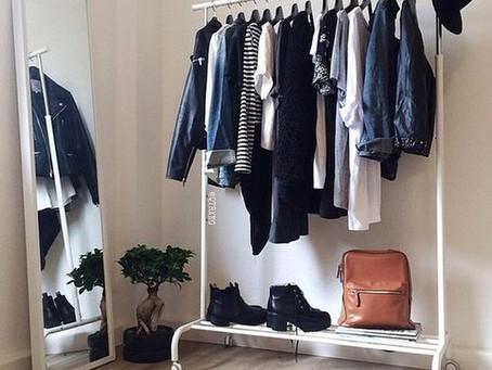 ARMÁRIO CÁPSULA e um novo modo de enxergar o seu guarda-roupa