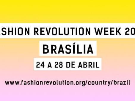 Fashion Revolution Week | Brasília - 24/04 a 28/04