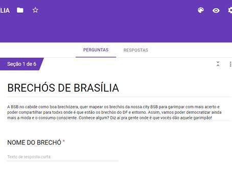 Já pensou em conhecer TODOS os BRÉCHOS de Brasília?
