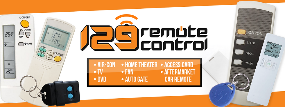 129-Remote Control Shop | Singapore | Your One Stop Remote Solutions |