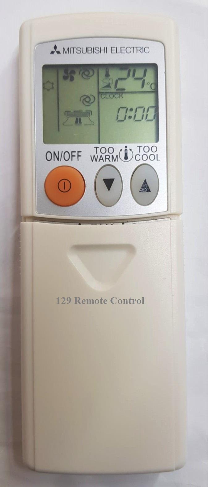 Mitsubishi AirCon Remote Control