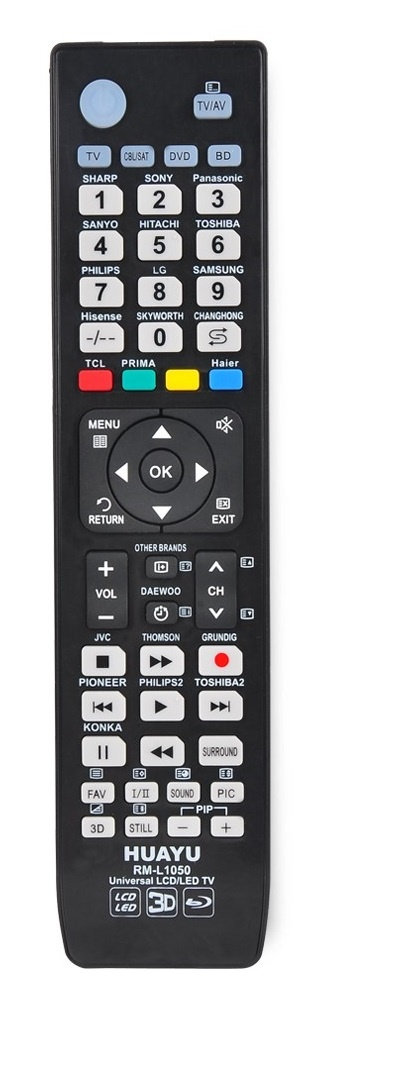 Universal LED, LCD TV Remote Control (RM-L1050)
