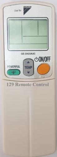 (High Quality - Daikin AirCon Remote for ARC423A2