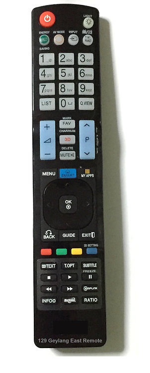 New LG TV LED, LCD Remote Control Replacement