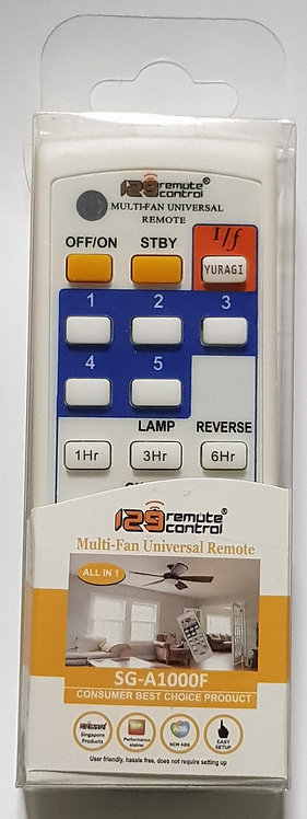 Genuine SG-A1000F Fan Remote Control Replacement for R56SV