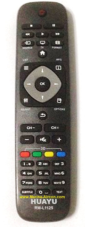Philips TV Remote Control Replacement
