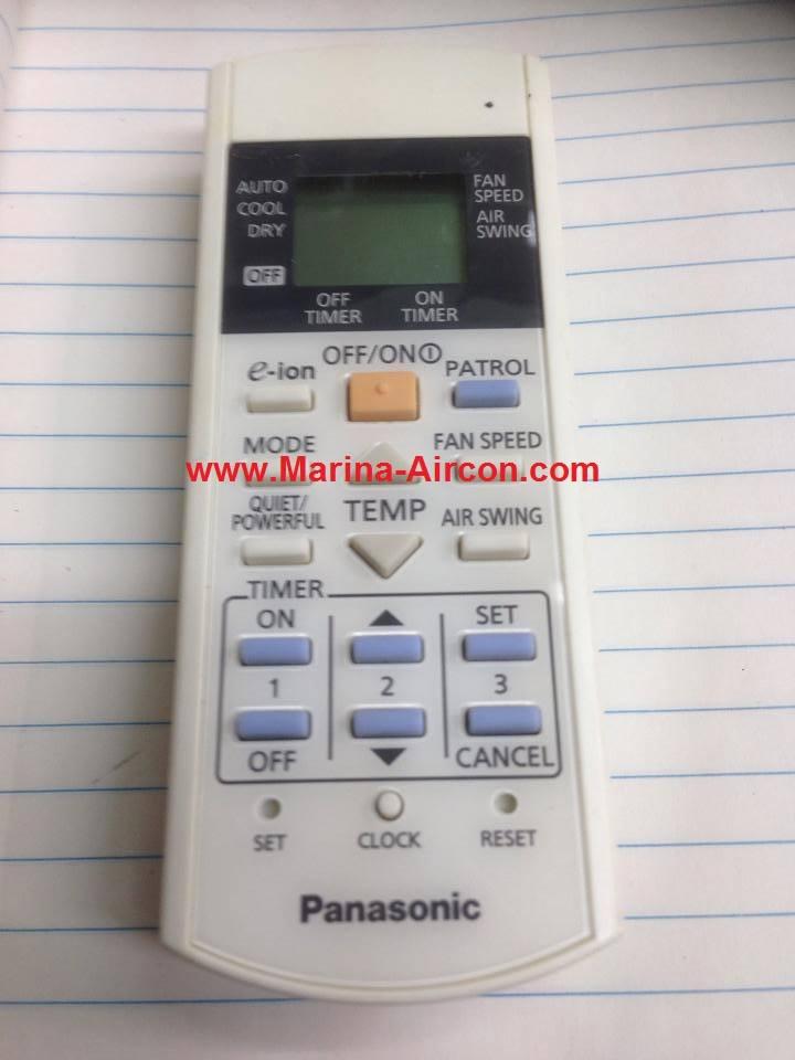 Panasonic/National Air-con Remote