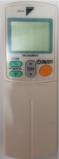 (High Quality - Daikin AirCon Remote for ARC433B47