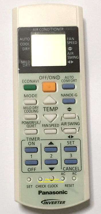 Panasonic Air-Con Remote Control (Replacement)
