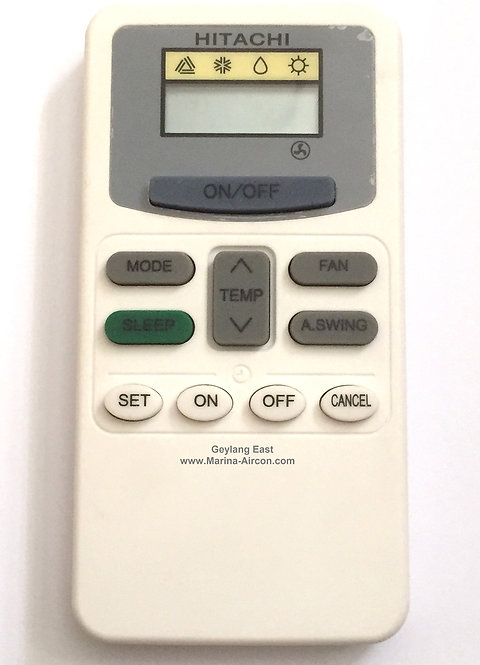 Hitachi AC Remote Control (Replacement)