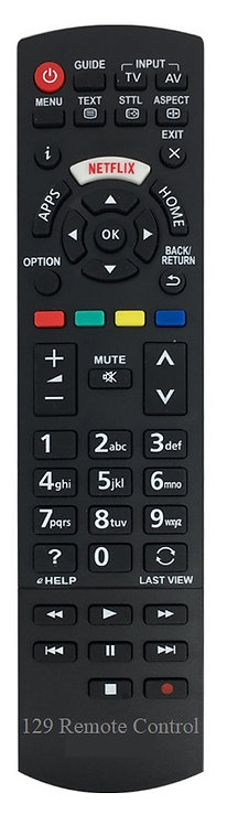 Panasonic TV LED Remote Control Replacement - Use Directly