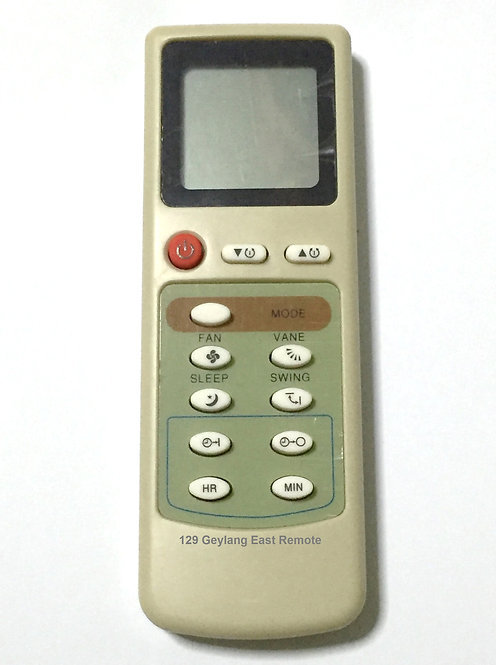 Mitsubishi Electric Air-Con Remote Control