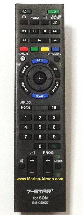 Sony TV Remote Control