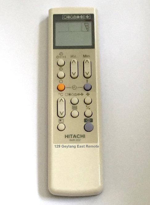 Hitachi Air-Con Remote Control (Replacement)