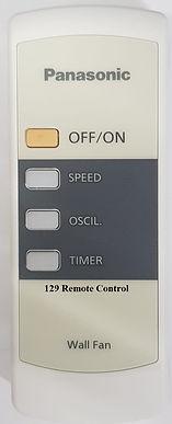 Original Panasonic Wall Fan Remote Control