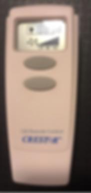 Original Crestar Fan Remote Control Replacment