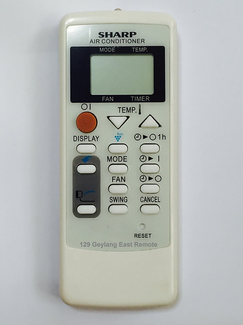 Sharp Air-Con Remote Control (Replacement)