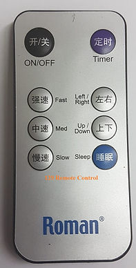 Roman Fan Remote Control