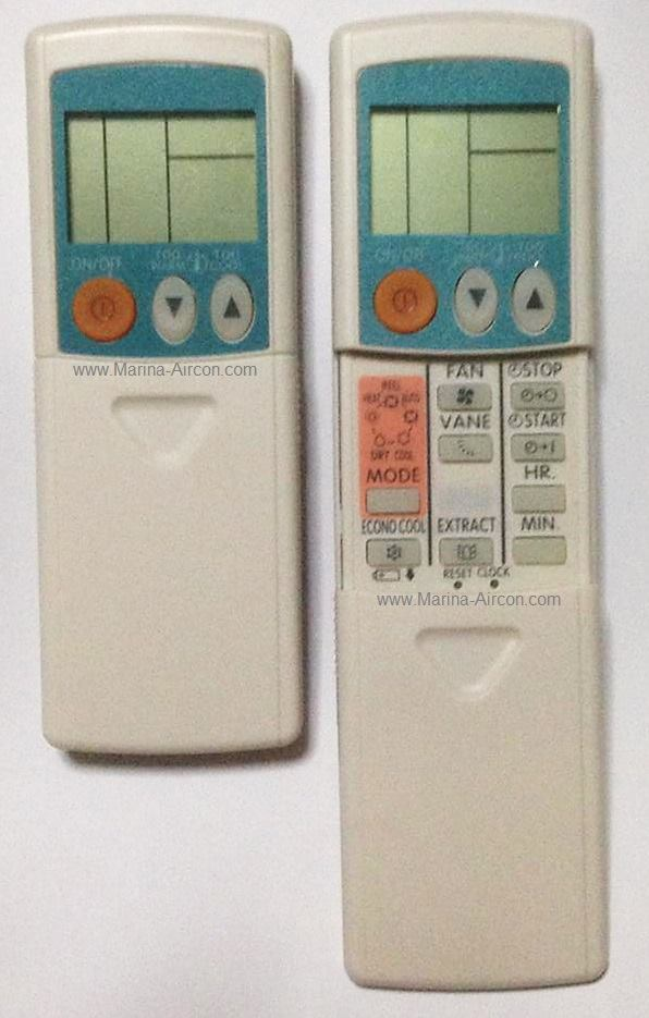 Mitsubishi Electric Air-Con Remote