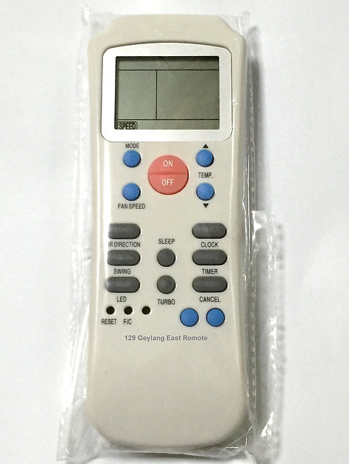 Carrier Air-Con Remote Control (Replacement)
