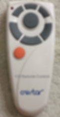 Original Crestar Fan Remote Control Replacment