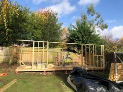 Family garden room phase 1