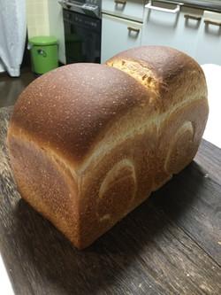 ホシノ酵母の食パン