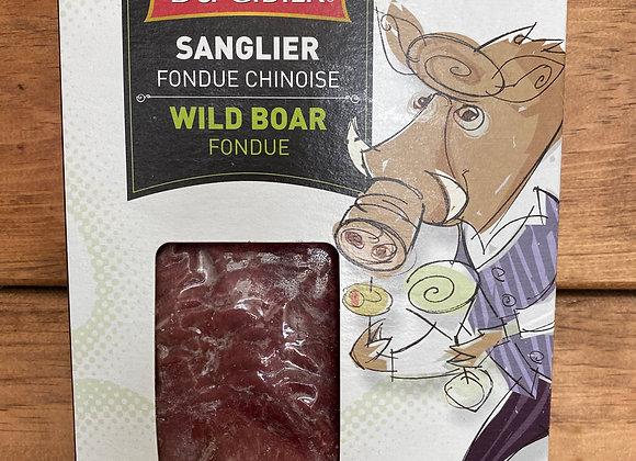 Fondue Chinoise - Sanglier