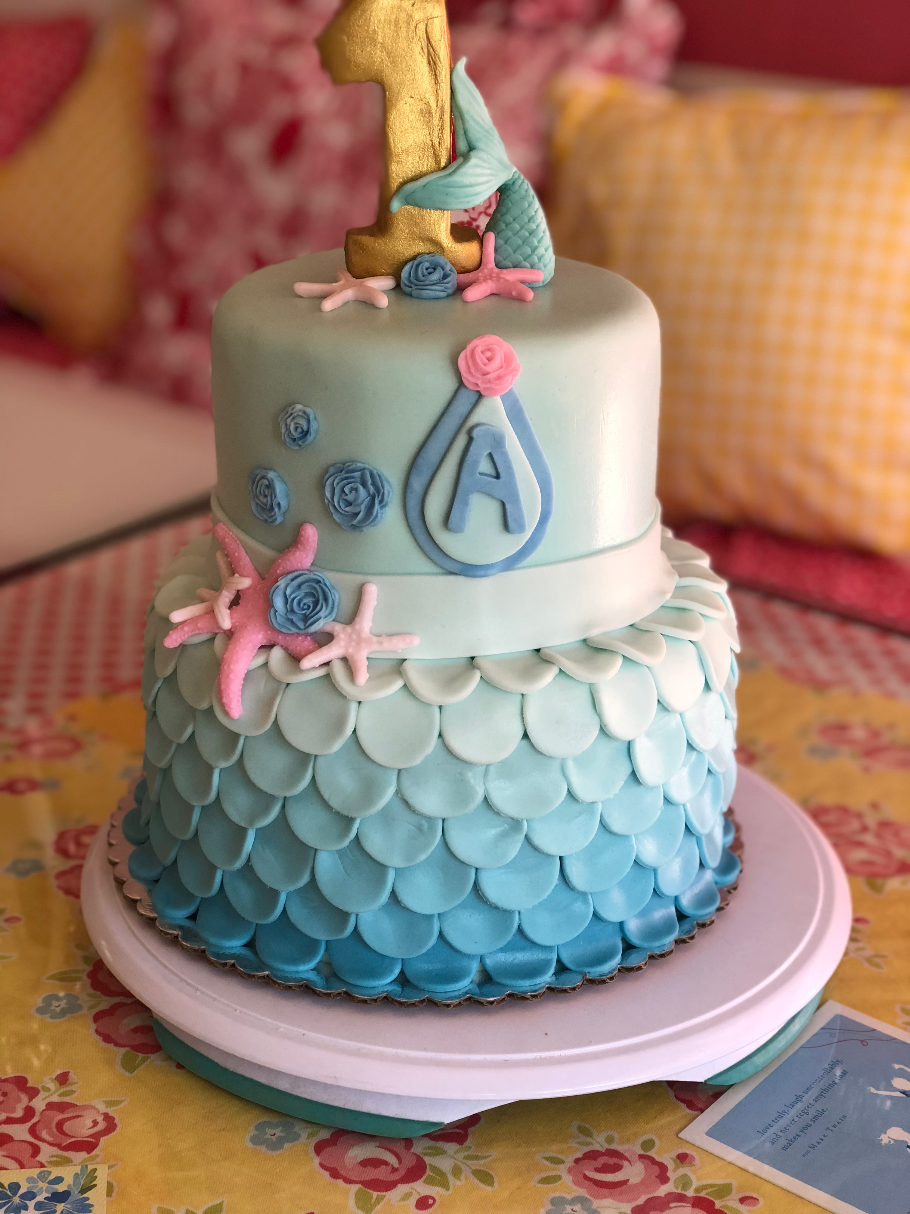 Mermaid's 1st Birthday