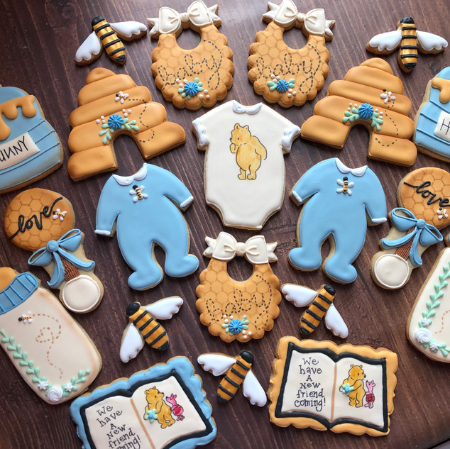 Pooh & Friends Baby Shower