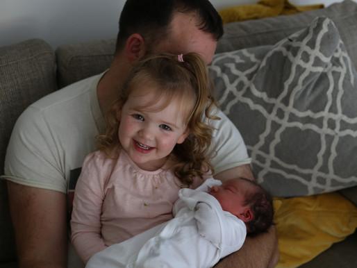 Edie's Birth- A speedy water birth at home