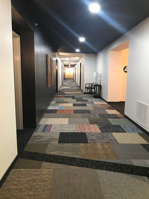 Hallways are done!