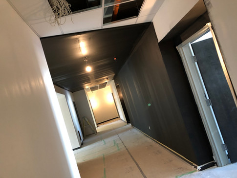 LARGE spacious hallways