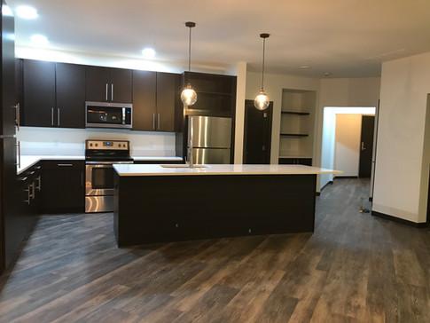 Two bedroom Corner Units Kitchen Area