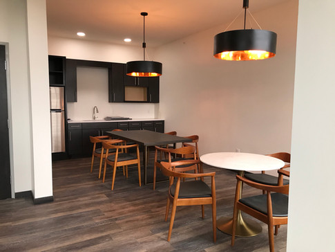 Partyroom with kitchenette