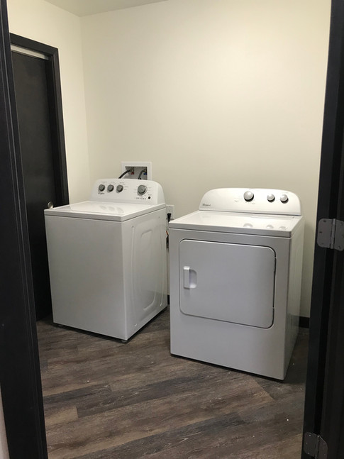 Laundryroom in Each Apartment